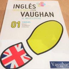 Libros: INGLÉS PASO A PASO CON VAUGHAN / Nº 01 / EL INGLÉS EFICAZ / INCLUYE CD / PRECINTADO.. Lote 153751946
