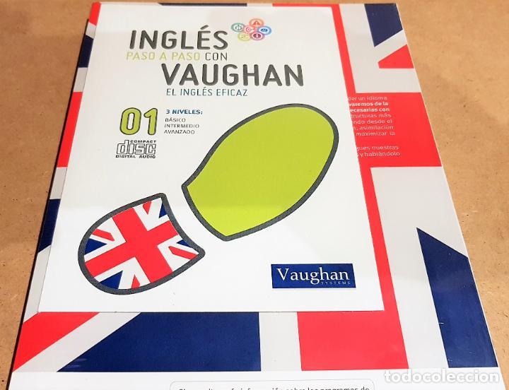 Libros: INGLÉS PASO A PASO CON VAUGHAN / Nº 01 / EL INGLÉS EFICAZ / INCLUYE CD / PRECINTADO. - Foto 2 - 153751946