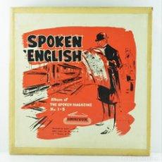 Libros: THE SPOKEN MAGAZINE Nº 1-5. Lote 155899022