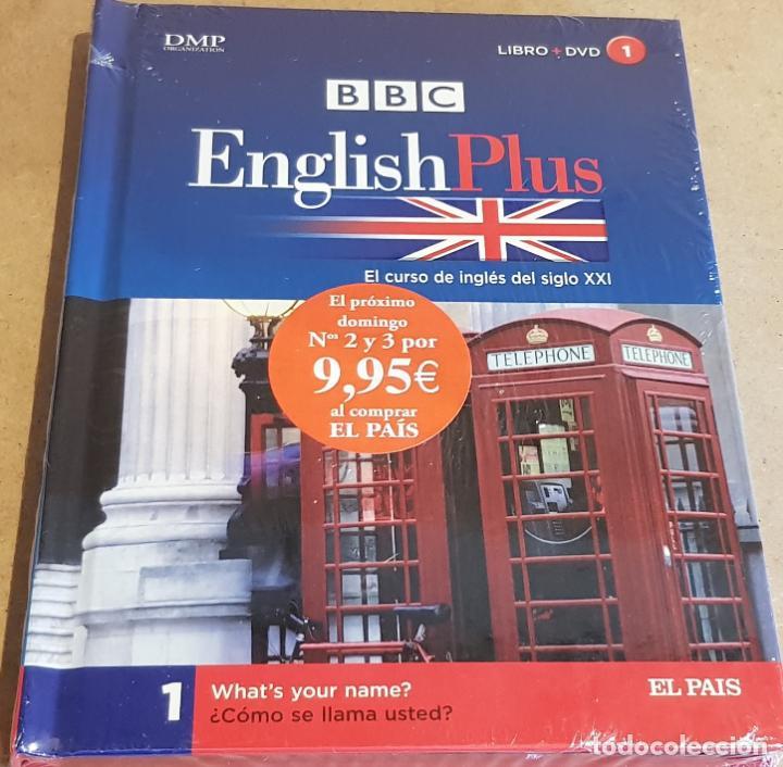 BBC / ENGLISH PLUS Nº 1 / LIBRO + DVD - PRECINTADO / ED. EL PAIS. (Libros Nuevos - Idiomas - Inglés)