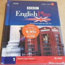 Libros: BBC / ENGLISH PLUS Nº 1 / LIBRO + DVD - PRECINTADO / ED. EL PAIS.. Lote 157657438