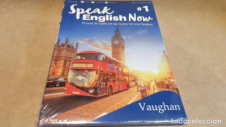 SPEAK ENGLISH NOW BY VAUGHAN / Nº 1 / LIBRO + CD & MP3 / LAS NUEVAS TÉCNICAS VAUGHAN / PRECINTADO. (Libros Nuevos - Idiomas - Inglés)
