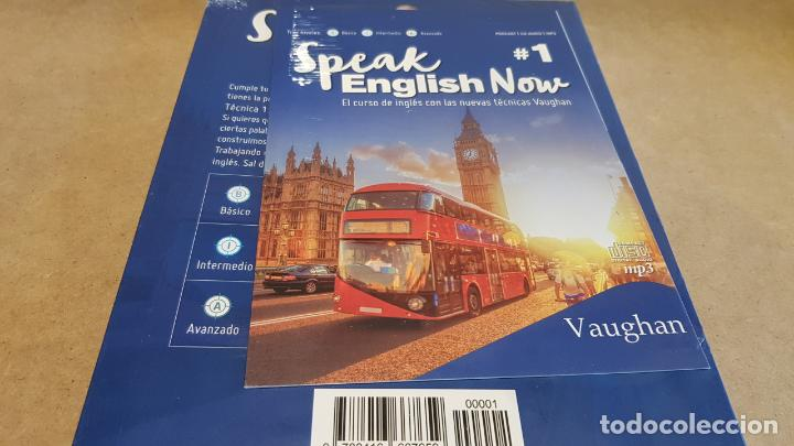 Libros: SPEAK ENGLISH NOW BY VAUGHAN / Nº 1 / LIBRO + CD & MP3 / LAS NUEVAS TÉCNICAS VAUGHAN / PRECINTADO. - Foto 2 - 160605250