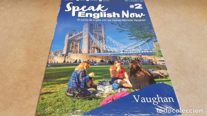 SPEAK ENGLISH NOW BY VAUGHAN / Nº 2 / LIBRO + CD & MP3 / LAS NUEVAS TÉCNICAS VAUGHAN / PRECINTADO. (Libros Nuevos - Idiomas - Inglés)