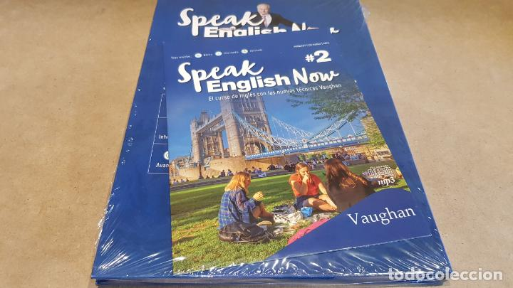 Libros: SPEAK ENGLISH NOW BY VAUGHAN / Nº 2 / LIBRO + CD & MP3 / LAS NUEVAS TÉCNICAS VAUGHAN / PRECINTADO. - Foto 2 - 160605374