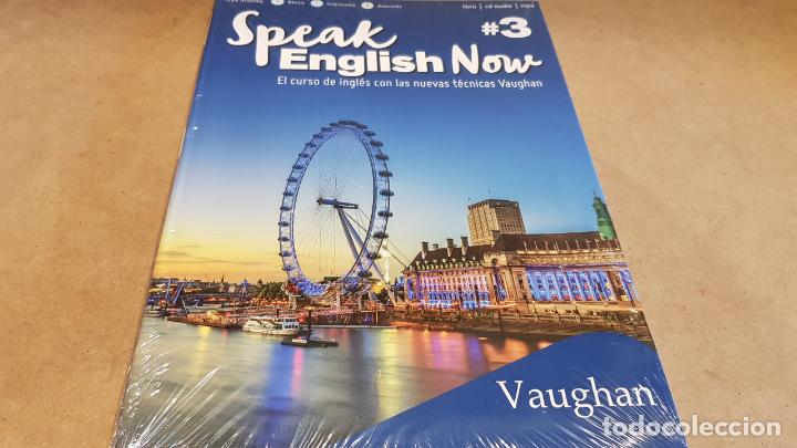 SPEAK ENGLISH NOW BY VAUGHAN / Nº 3 / LIBRO + CD & MP3 / LAS NUEVAS TÉCNICAS VAUGHAN / PRECINTADO. (Libros Nuevos - Idiomas - Inglés)