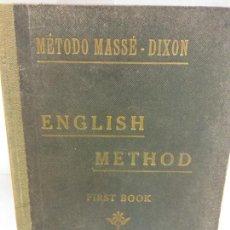 Libros: STQ.ENGLISH METHOD.FIRST BOOK.BRUMART TU LIBRERIA.. Lote 166359538