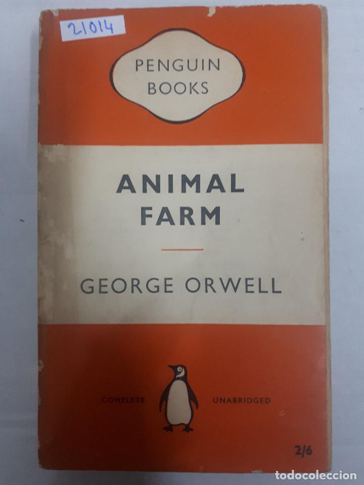 21014 - ANIMAL FARM - POR GEORGE ORWELL - Nº 838 - AÑO 1957 - EN INGLES (Libros Nuevos - Idiomas - Inglés)