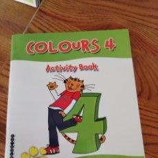 Libros: ACTIVITY BOOK COLOURS 4. Lote 168682476