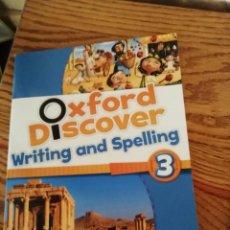 Libros: OXFORD NIVEL 3 PRIMARY ESCRIBIR Y DELETREAR EN INGLÉS. Lote 168709644