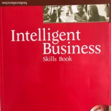 Libros: INTELLIGENT BUSINESS INTERMEDIATE SKILLS BOOK AND CD-ROM PACK. Lote 169408776