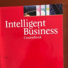 Libros: INTELLIGENT BUSINESS INTERMEDIATE COURSE BOOK (INTELLIGENT BUSINESS). Lote 169409162
