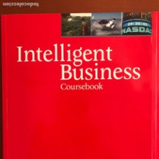 Libros: INTELLIGENT BUSINESS UPPER INTERMEDIATE COURSEBOOK. Lote 169409444