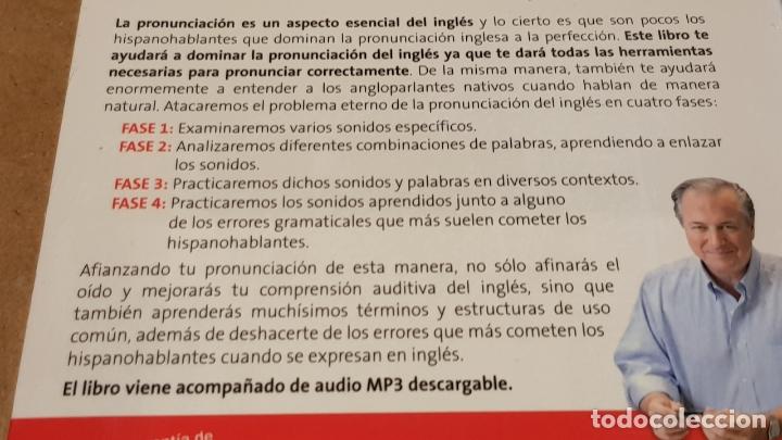 Libros: DOMINA LA PRONUNCIACIÓN DEL INGLÉS. ED / VAUGHAN SYSTEMS. CON MP3 DESCARGABLE. / PRECINTADO. - Foto 2 - 172777614