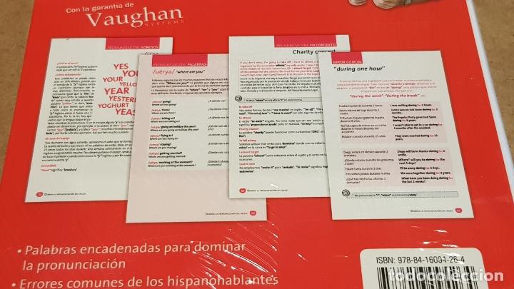 Libros: DOMINA LA PRONUNCIACIÓN DEL INGLÉS. ED / VAUGHAN SYSTEMS. CON MP3 DESCARGABLE. / PRECINTADO. - Foto 3 - 172777614
