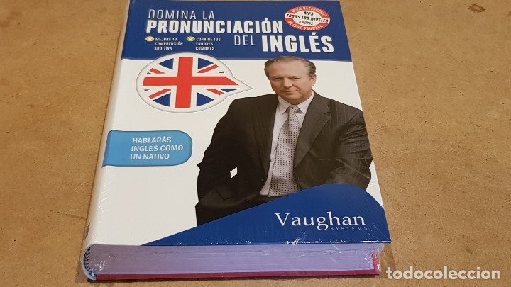 DOMINA LA PRONUNCIACIÓN DEL INGLÉS. ED / VAUGHAN SYSTEMS. CON MP3 DESCARGABLE. / PRECINTADO. (Libros Nuevos - Idiomas - Inglés)