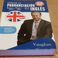 Libros: DOMINA LA PRONUNCIACIÓN DEL INGLÉS. ED / VAUGHAN SYSTEMS. CON MP3 DESCARGABLE. / PRECINTADO.. Lote 172777614
