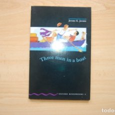 Libros: THREE MEN IN A BOAT. OXFORD. Lote 173043232