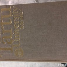 Libros: HISTORY OF TARTU UNIVERSITY.1632-1982 KARL SIILVASK. Lote 173157568