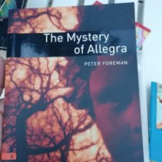 Libros: THE MYSTERY OF ALLEGRA. Lote 173637273