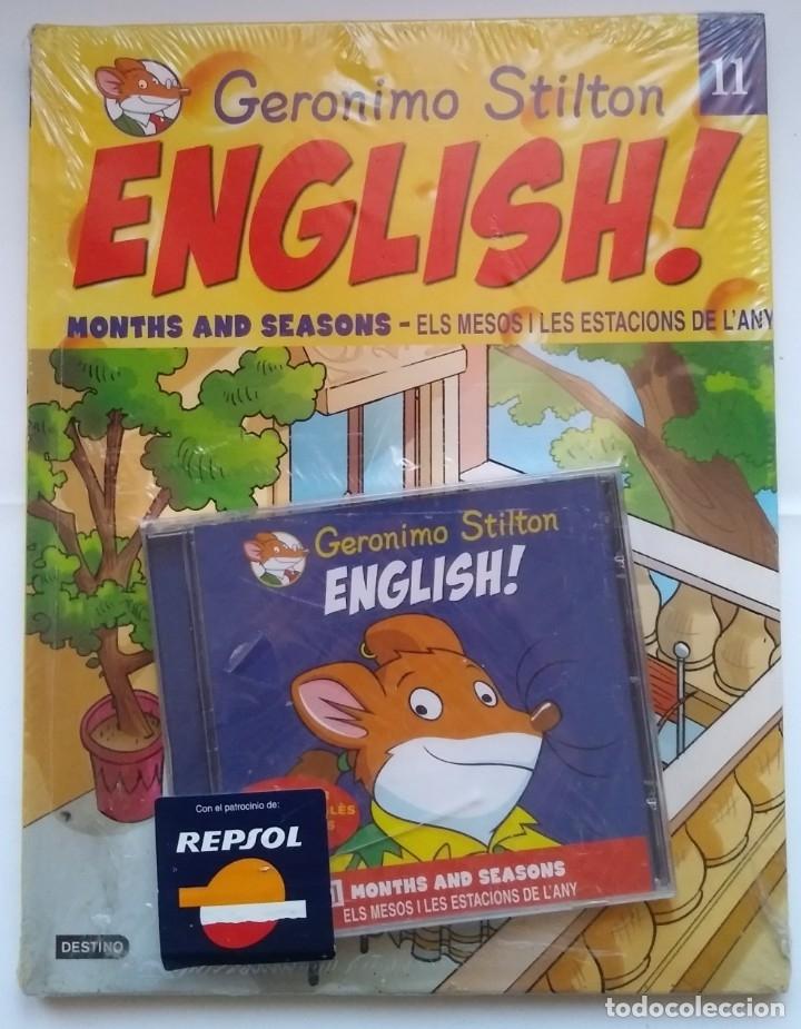 NUEVO PRECINTADO. GERONIMO STILTON ENGLISH! 11. ELS MESOS I LES ESTACIONS DE L'ANY. DEBIBL (Libros Nuevos - Idiomas - Inglés)
