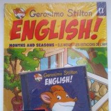 Libros: NUEVO PRECINTADO. GERONIMO STILTON ENGLISH! 11. ELS MESOS I LES ESTACIONS DE L'ANY. DEBIBL. Lote 175532159