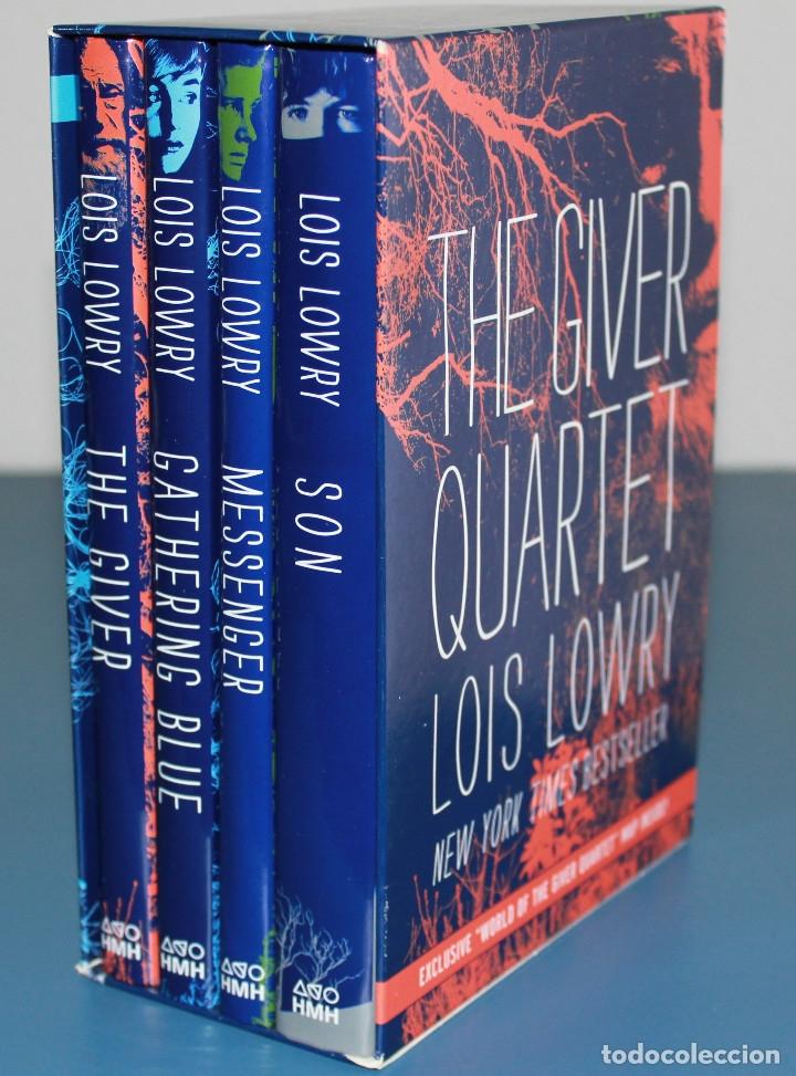 THE GIVER - QUARTET BOXED SET - LOIS LOWRY - HARDCOVER 2014 (Libros Nuevos - Idiomas - Inglés)