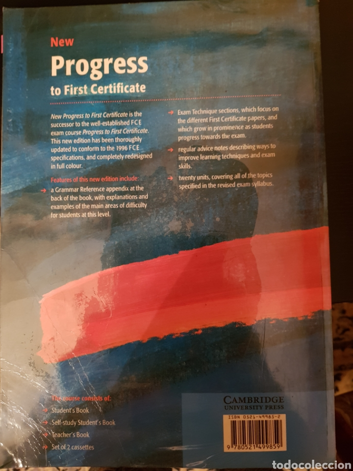 Libros: New Progress to First Certificate. Students book - Foto 2 - 178616420