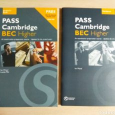 Libros: PASS CAMBRIDGE BEC HIGHER. Lote 178977068