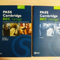 Libros: PASS CAMBRIDGE BEC VANTAGE. Lote 178977426