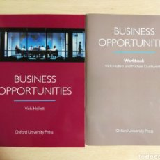 Libros: BUSINESS OPPORTUNITIES. OXFORD UNIVERSITY PRESS. Lote 178978362