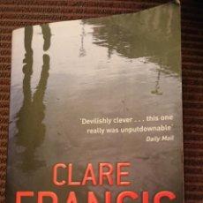 Libros: CLARE FRANCIS UNFORGOTTEN. Lote 179150486