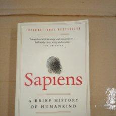 Libros: SAPIENS. A BRIEF HISTORY OF HUMANKIND - YUVAL NOAH HARARI. Lote 180430011