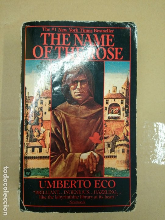 Libros: The name of the Rose - Eco, Umberto - Foto 1 - 180430117