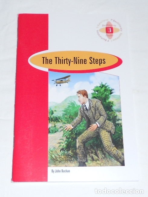 THE THIRTY NINE STEPS - BURLINGTON BOOKS - NUEVO (Libros Nuevos - Idiomas - Inglés)