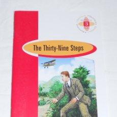 Libros: THE THIRTY NINE STEPS - BURLINGTON BOOKS - NUEVO. Lote 180899545