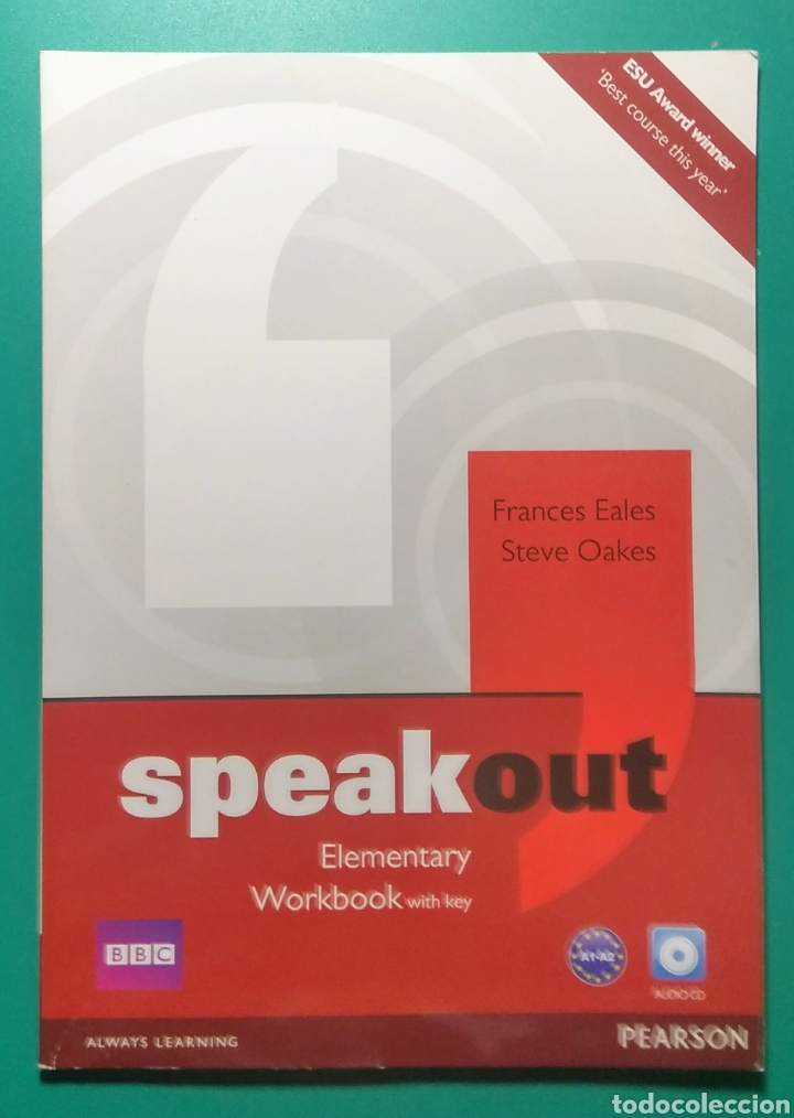 SPEAK OUT. ELEMENTARY WORKBOOK. PEARSON. BBC. (Libros Nuevos - Idiomas - Inglés)