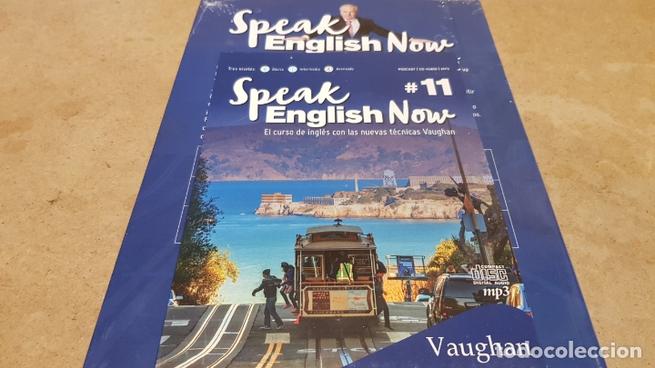 Libros: SPEAK ENGLISH NOW BY VAUGHAN / Nº 11 / LIBRO + CD & MP3 / LAS NUEVAS TÉCNICAS VAUGHAN / PRECINTADO. - Foto 2 - 182685887