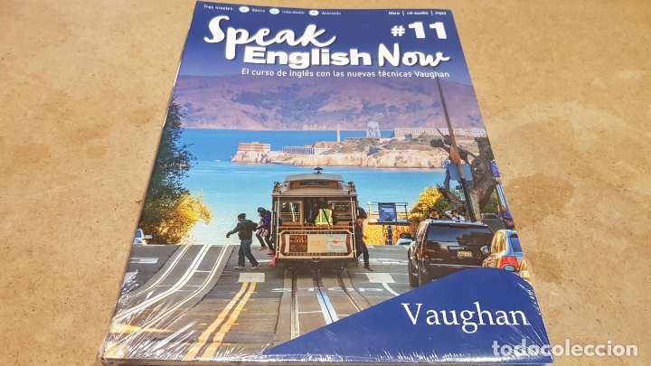 SPEAK ENGLISH NOW BY VAUGHAN / Nº 11 / LIBRO + CD & MP3 / LAS NUEVAS TÉCNICAS VAUGHAN / PRECINTADO. (Libros Nuevos - Idiomas - Inglés)