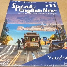 Libros: SPEAK ENGLISH NOW BY VAUGHAN / Nº 11 / LIBRO + CD & MP3 / LAS NUEVAS TÉCNICAS VAUGHAN / PRECINTADO.. Lote 182685887