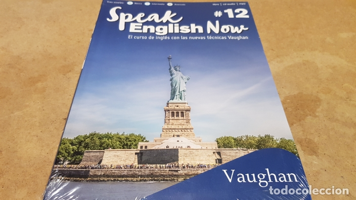 SPEAK ENGLISH NOW BY VAUGHAN / Nº 12 / LIBRO + CD & MP3 / LAS NUEVAS TÉCNICAS VAUGHAN / PRECINTADO. (Libros Nuevos - Idiomas - Inglés)