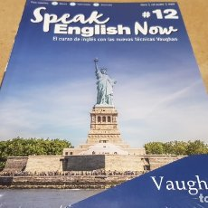Libros: SPEAK ENGLISH NOW BY VAUGHAN / Nº 12 / LIBRO + CD & MP3 / LAS NUEVAS TÉCNICAS VAUGHAN / PRECINTADO.. Lote 182686012