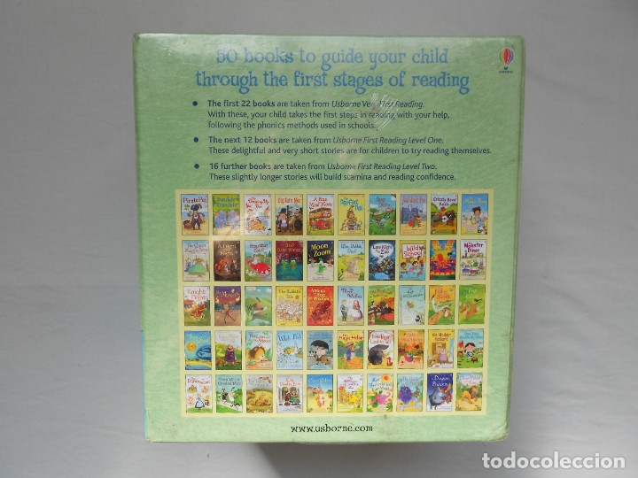 SEVEN CREATIONS USBORNE MY VERY FIRST READING LIBRARY 50 BOOKS SET COLLECTION PACK EARLY LEVEL 1-2 (Libros Nuevos - Idiomas - Inglés)