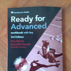 Libros: READY FOR ADVANCED MACMILLAN. Lote 183066373