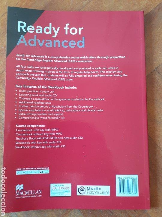 Libros: READY FOR ADVANCED MACMILLAN - Foto 2 - 183066373
