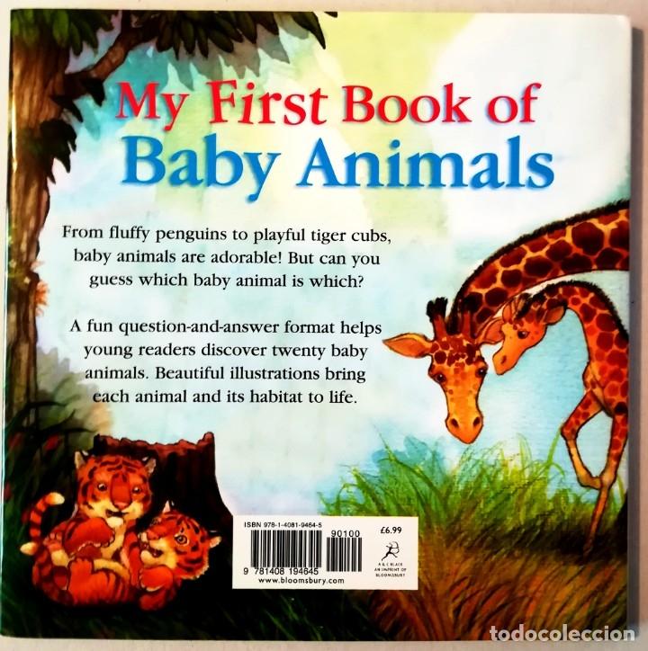 Libros: MY FIRST BOOK OF BABY ANIMALS TAPA DURA CON SOBRECUBIERTA - Foto 2 - 183303030