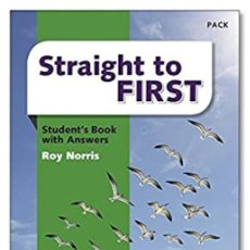 Libros: STRAIGHT TO FIRST MACMILLAN. Lote 183480412