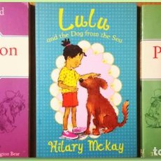 Libros: PADDINGTON AT LARGE, PADDINGTON TAKES THE TEST, LULU AND THE DOG FROM THE SEA TAPA FLEXIBLE. Lote 183516198