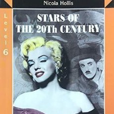 Libros: STARS OF THE 20TH CENTURY ; ENGLISH READERS , LEVEL 6 TAPA FLEXIBLE. Lote 183557442