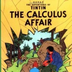 Libros: THE ADVENTURES OF TINTIN: THE CALCULUS AFFAIR HERGE HARD COVER COMIC. Lote 183677320
